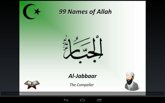 99 Beautiful Names of Allah apk screenshot