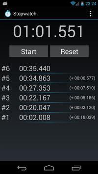 Tiny Stopwatch apk screenshot