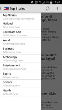 Philippines News apk screenshot