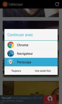 CAution LIve periSCOPE apk screenshot