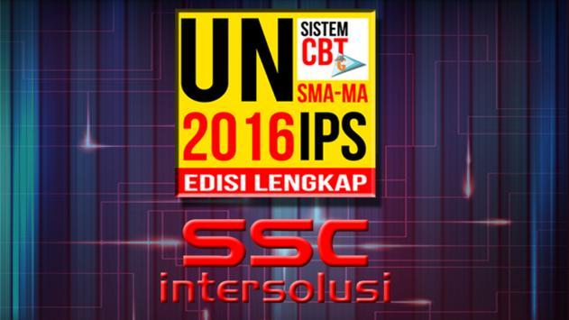 UN CBT 2016 : SMA/MA IPS poster