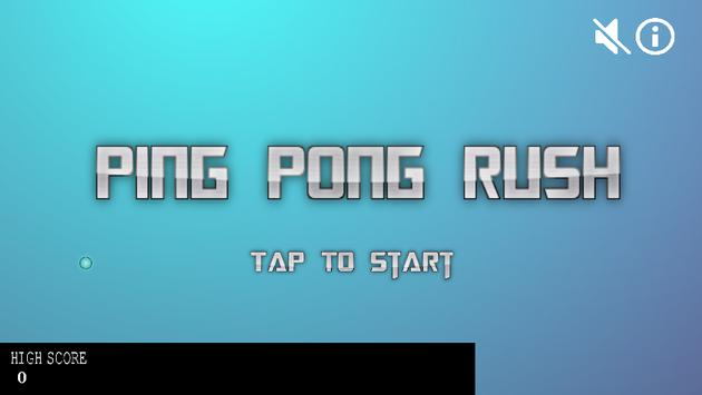 Ping Pong Rush poster
