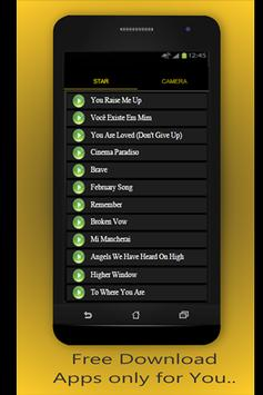 Josh Groban P. Effect & lyrics screenshot 1