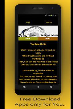 Josh Groban P. Effect & lyrics screenshot 2