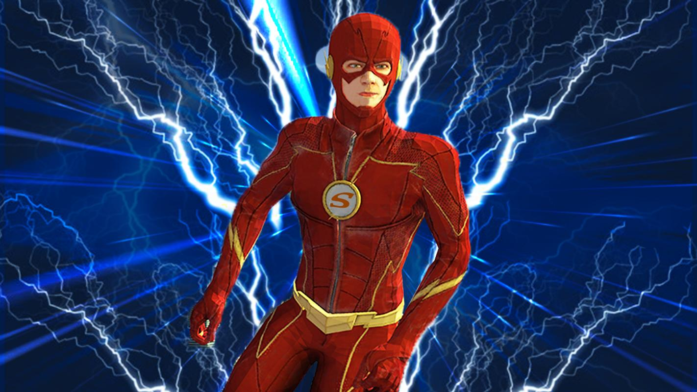 The Flash Games Online Superhero
