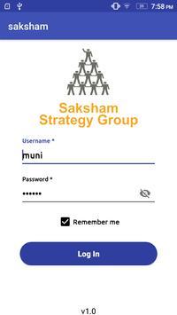 Saksham apk screenshot