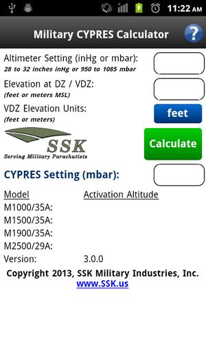 Military CYPRES Calculator for Android - APK Download