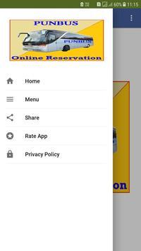 Online Bus Ticket Reservation PUNBUS screenshot 3