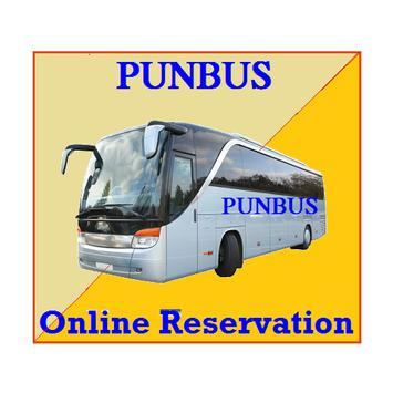 Online Bus Ticket Reservation PUNBUS screenshot 2