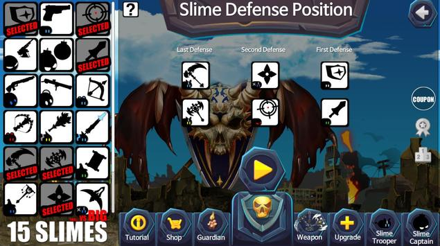 15 Slimes : Last Defense apk screenshot