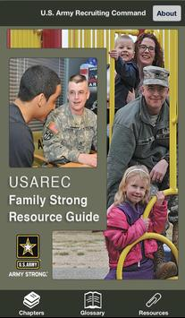 USAREC Family Strong Guide poster