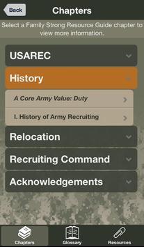 USAREC Family Strong Guide apk screenshot