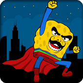 Super sponge man icon