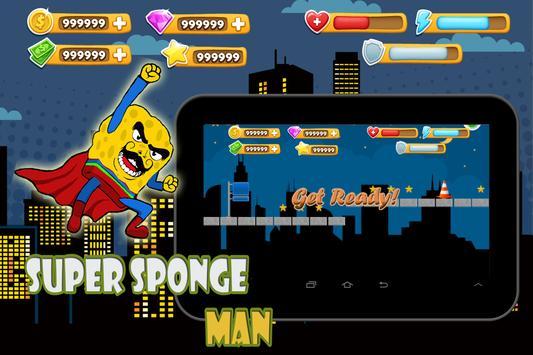 Super sponge man poster