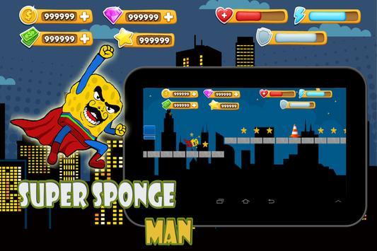 Super sponge man apk screenshot
