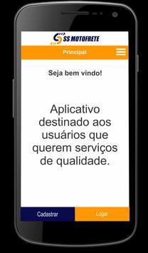 SS Motofrete - Cliente screenshot 4