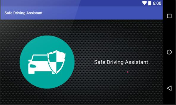 Safe Driving Assistant poster