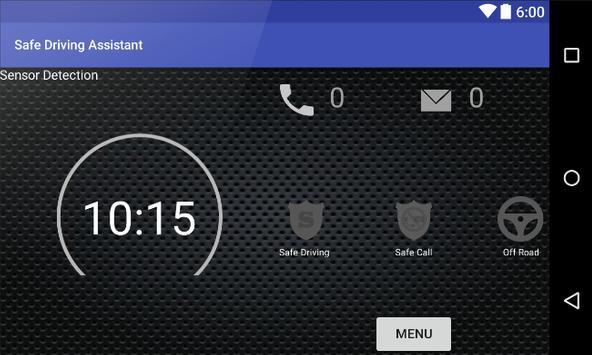 Safe Driving Assistant apk screenshot