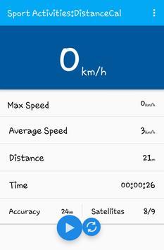 Sport Activities Tools (GPS) apk screenshot