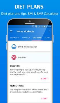 Home Workouts challenge - Fitness bodybuilding apk screenshot