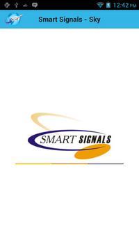 Smart Signals - Sky poster