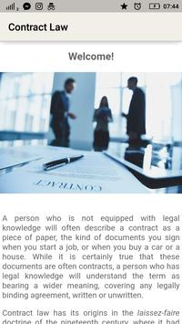 Law Made Easy! Contract Law screenshot 2