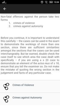 Law Made Easy! Criminal Law imagem de tela 1