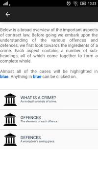 Law Made Easy! Criminal Law imagem de tela 7