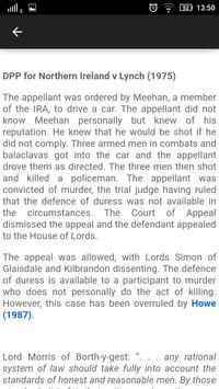 Law Made Easy! Criminal Law imagem de tela 5