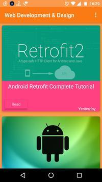 Web  & Mobile Development poster
