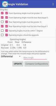 Drive Line Angle Manager screenshot 2