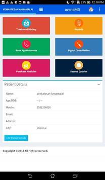 avanaMD Patients apk screenshot