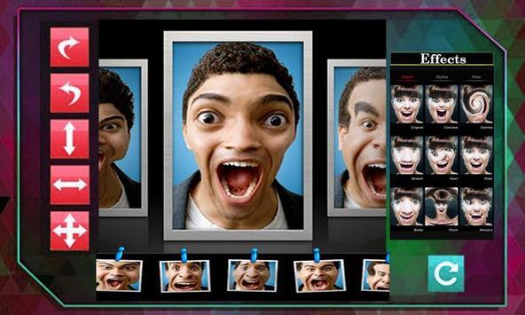 Face Wrap Face Warp Funny Makeup Face Editor 2018 screenshot 3