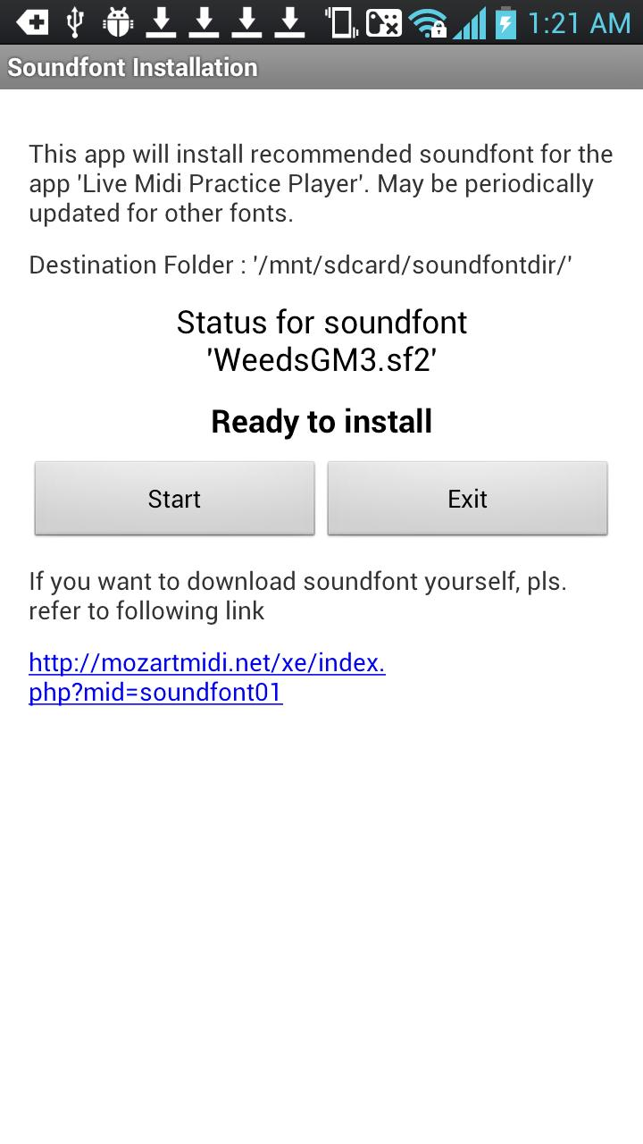 Soundfont Installer cho Android - Tải về APK
