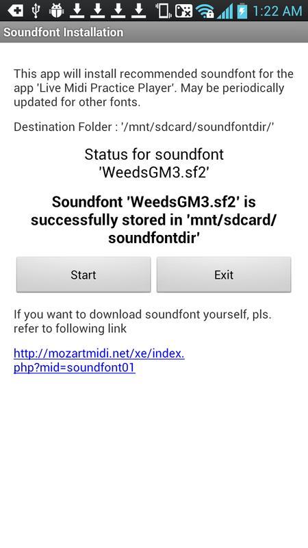 Free soundfont