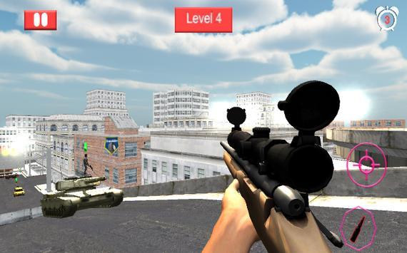 Sniper City Elite 3D Shooter screenshot 5