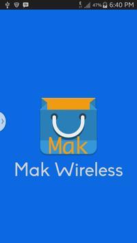 Mak Wireless poster