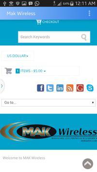 Mak Wireless screenshot 1