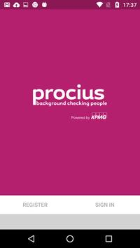 Procius Right to Work poster