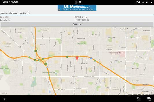 GeocodeIt apk screenshot