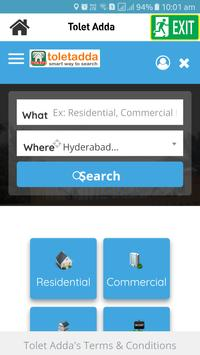 Tolet Adda - smart way to search poster