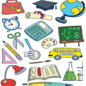 School Stationery Vocabulary icon