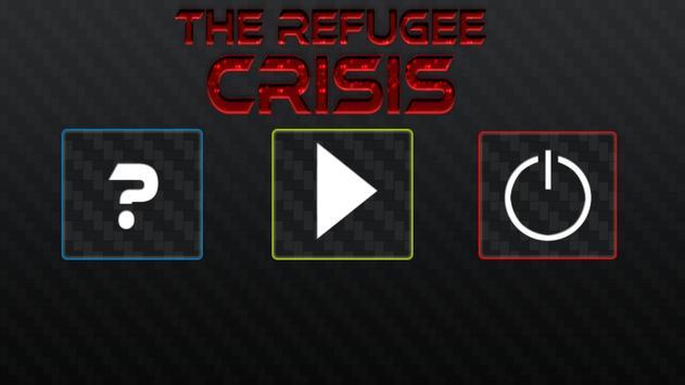The Refugee Crisis -Flüchtling poster