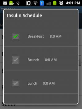 T1DM - Manage Type 1 Diabetes apk screenshot