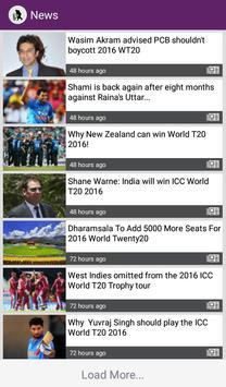 T20 World Cup 2016 Schedule screenshot 3