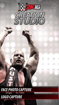 WWE 2K16 Creation Studio Poster