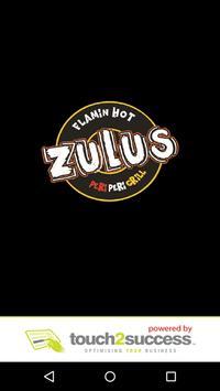 Zulus Peri Peri poster