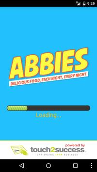 Abbies Pizza poster