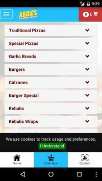 Abbies Pizza screenshot 2