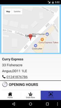 Curry Express Arbroath screenshot 3